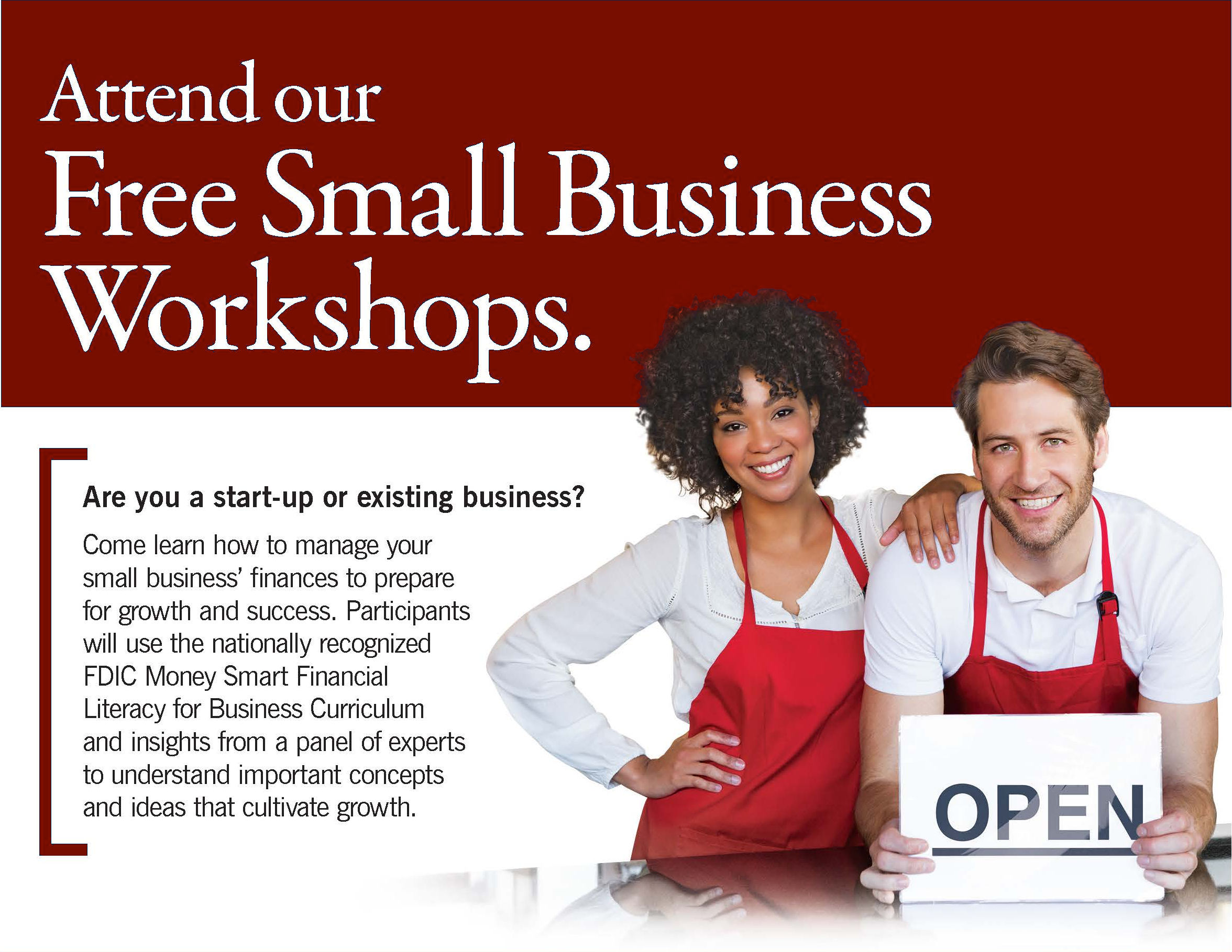 Small Business Workshops provided by Ohio Savings Bank